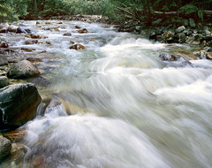 Little Cottonwood Creek (trekok, enjoying) Tags: water creek ut little cottonwood flowing