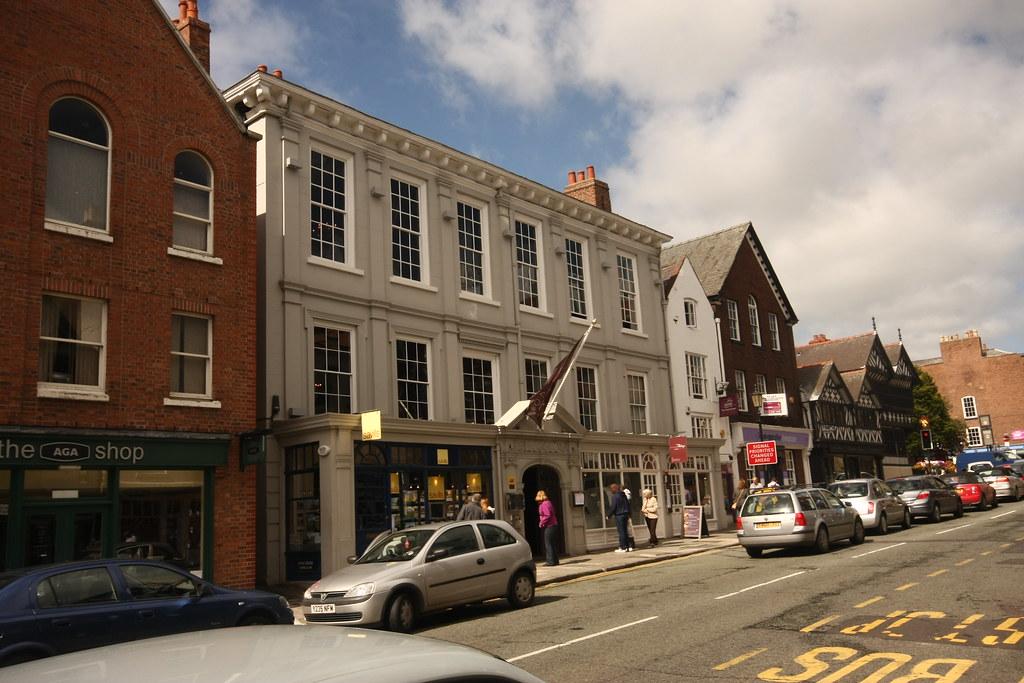 Chester, Lower Bridge St, 16-24 - Oddfellows Hall