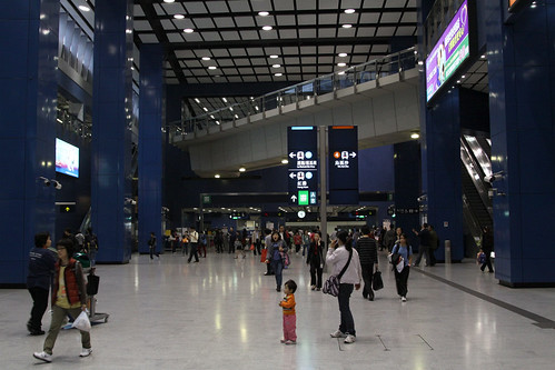 Ground level concourse at Tai Wai station