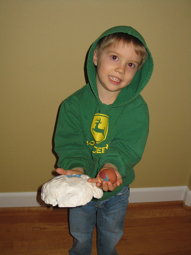 Indian Clay Pot by Gtums (age 4)