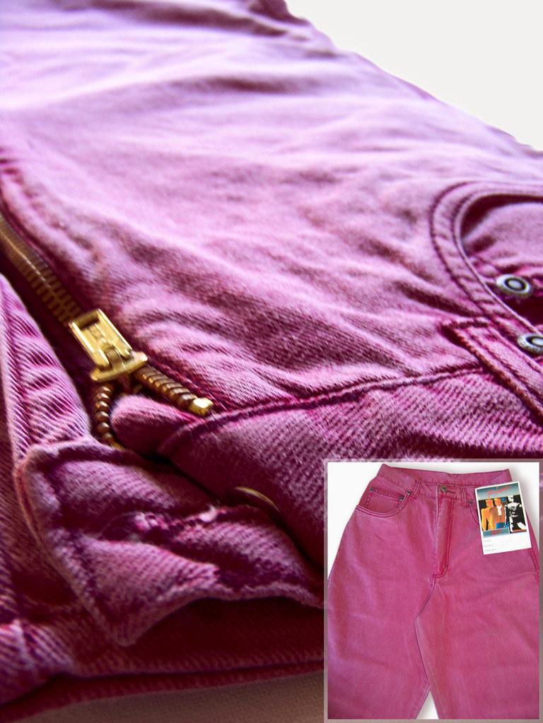 Pant vintage cintura alta fotos
