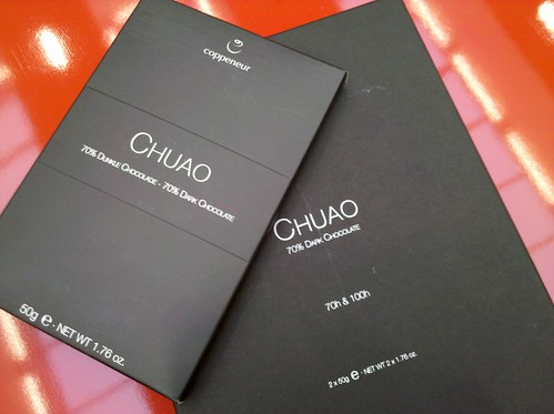 Yesterday I mentioned to Coppeneur Chocolate that I loved their Chuao origin. Today they gave me these: