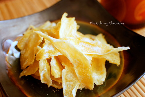 Mứt Gừng (Vietnamese Candied Ginger)