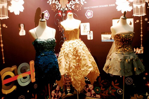 paper and felt dresses
