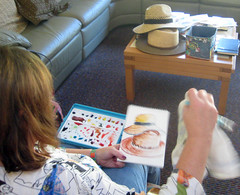 workshop for seaside quilters feb 2011