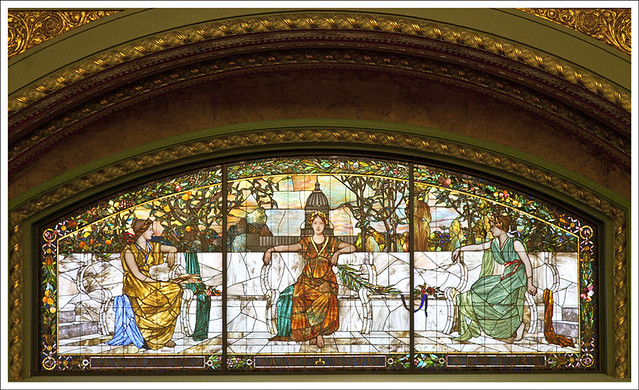 Union Station Great Hall 3 - Allegory Window