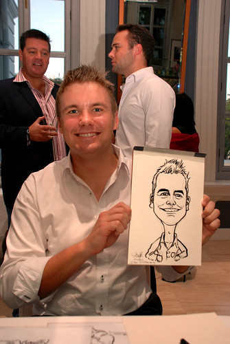 Caricature live sketching for Norden Shipping - 8