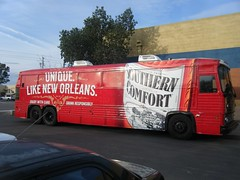 Southern Comfort Bus Wrap