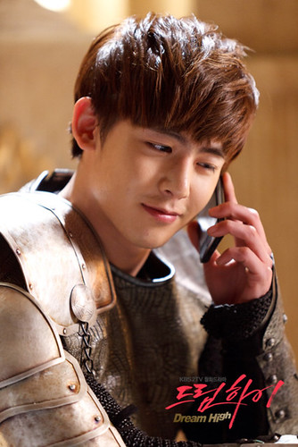 "Nickhun's Special Appearence in ""Dream High"" Episode 8"