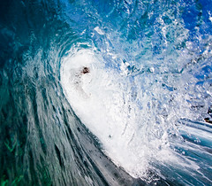 Banyans Barrel #2 (konaboy) Tags: color water hawaii surf surfer tube barrel wave surfing housing bigisland kona delmar kailuakona 6274 banyans indawatah