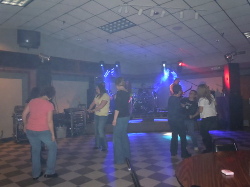 02/05/11 Dancing to Division Nine @ Sarah Wierman Benefit, Clearwater, MN