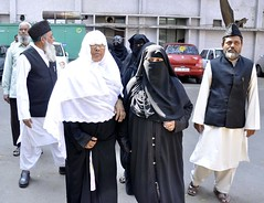 Relatives of injured Muslim prisoners going to APSHRC office (TwoCircles.net) Tags: women hijab niqab burqawoman relativesofinjuredmuslimprisoners muslimprisoners cherlapallypetitionapshrc