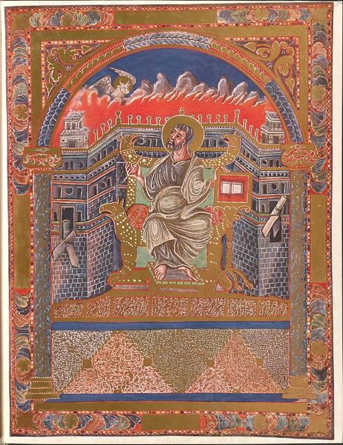 Evangeliar (Codex Aureus) - BSB Clm 14000 w