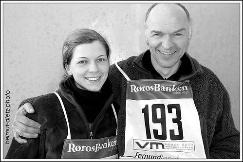 Femundlopet 2011: Ronja & Bernhard Schuchert, Sassenberg