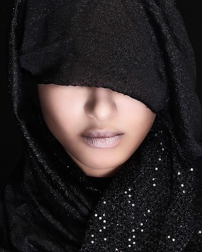 Beautiful Girl in Hijab