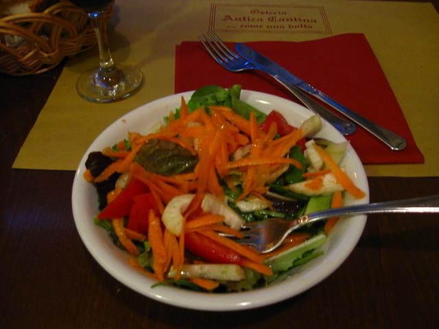 サラダのフリー写真素材