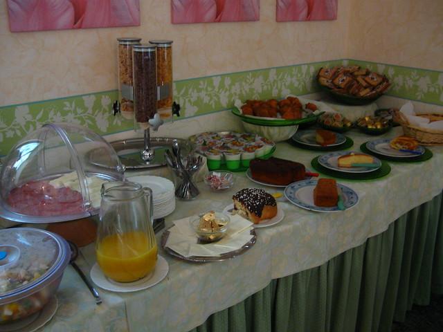 朝食のフリー写真素材