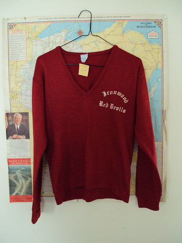 Vintage Ironwood Red Devils Sweater