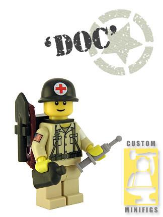 Custom minifig Medic 1