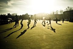 under the winter sun (Vulk.an) Tags: winter parco sun sport torino sole inverno turin valentino calcio savevulkan