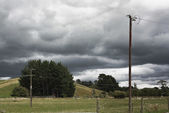 Stormy..... (Cath S (sn000py)) Tags: weather clouds rural stormy 365 day40