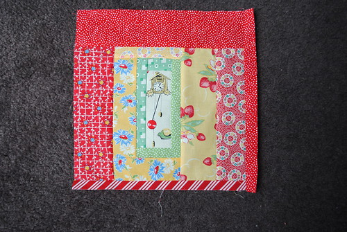 February block #2 for Seven Stitches