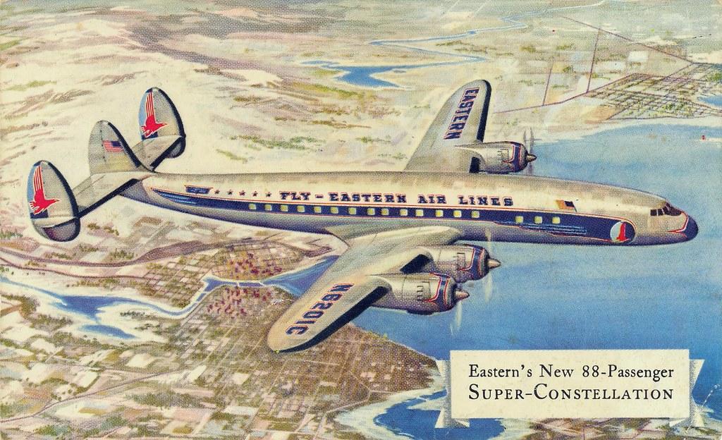 Eastern's New 88-Passenger Super-Constellation