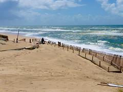 Portugal, Figueira da Foz (sylvia-mnchen) Tags: sea beach portugal strand meer europa europe wind weite einsamkeit stimmung wellen figueiradafoz stille brandung erholung