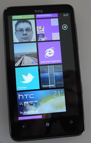 Day Thirty Seven - HTC HD 7 (Windows Phone 7)
