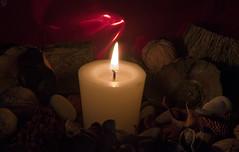 A La Luz De Una Vela (pp diaz) Tags: color luz asturias vela oviedo piedras floressecas papelderegalo