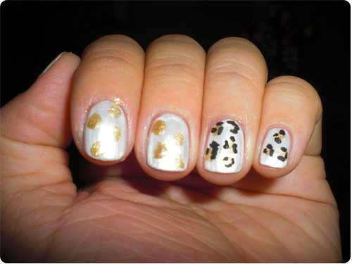 Swift Cheetah Manicure