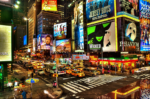 "Precious Broadway <b>Hey you, if you came here from explore page I would kindly ask you to FAVOURITE this image. This would help me a lot :) Thanks and have a nice day!</b> --- Hi everyone. Here is a new shot from my trip to the states last year. If you are like me you might like all the colors and lights. If you haven't been to New York go there. Times Square is awesome to practice taking cool photos. The changing lights and moving people make it a hard Job. As you can see it in the left corner I have been lazy… :)  So how are you doing lately?  The best wishes to all you nice friends!  Ben  | <a href=""http://de-de.facebook.com/people/Spreng-Ben/100000291761627"" rel=""nofollow"">Facebook</a> 
