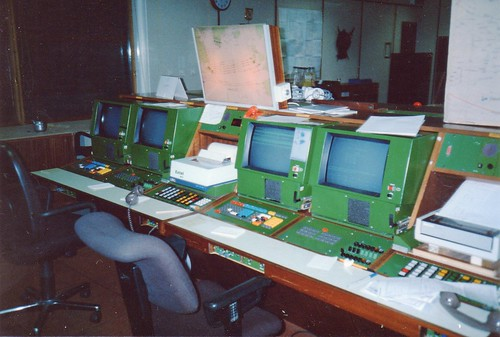 Shanwick Oceanic Control, Prestwick, 1989 | Flickr - Photo Sharing!