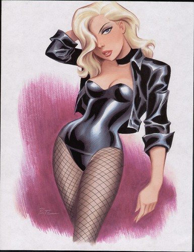 Black Canary by Bruce Timm  color 2009