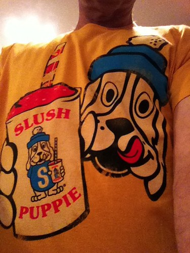 My new T-shirt. Possibly too wacky.
