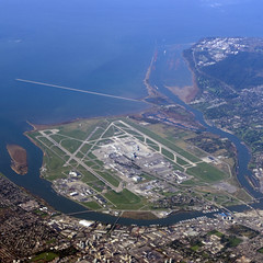 YVR (ecstaticist) Tags: ocean vancouver airport bc pacific columbia aerial international british yvr runway