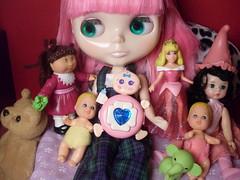 Raya and her dollies