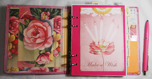 Rose end papers