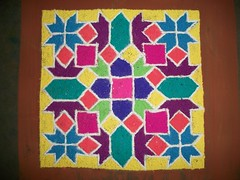 Rangoli - Dots (dipa1982) Tags: festival maharashtra welcome chaturthi ganpati morya dipasubramanian apsmm02 gutsgo