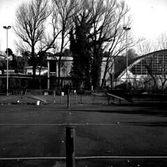 Campo da tennis (biguz_80) Tags: bw 6x6 club zeiss bn seven medium format 50 sporting ikon ilford medio sul gennaio formato 2011 nettar panfplus savignano 51816 rubicone