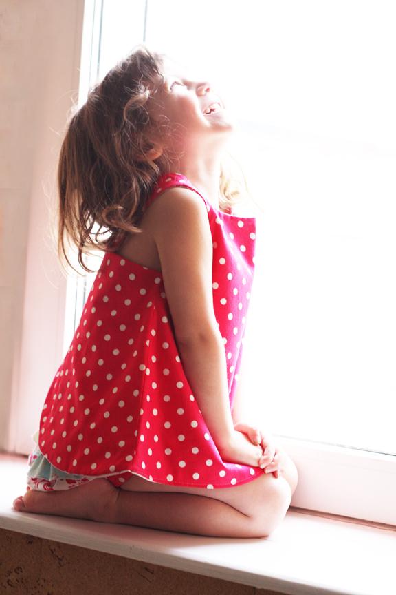 Capri baby dress