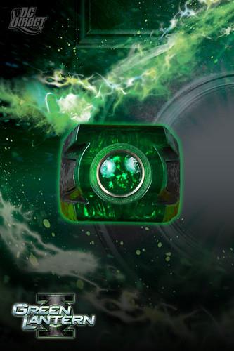 green lantern ring prop. Green Lantern Movie Power Ring