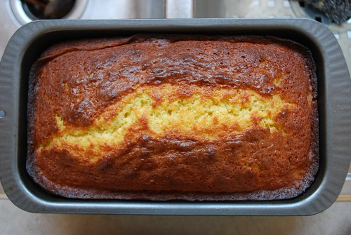 orange olive oil cake loaf