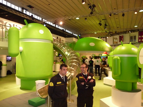 Android-Land at Mobile World Congress
