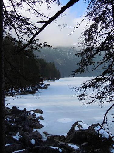 Eibsee (Lake near Garmisch, Deutschland)