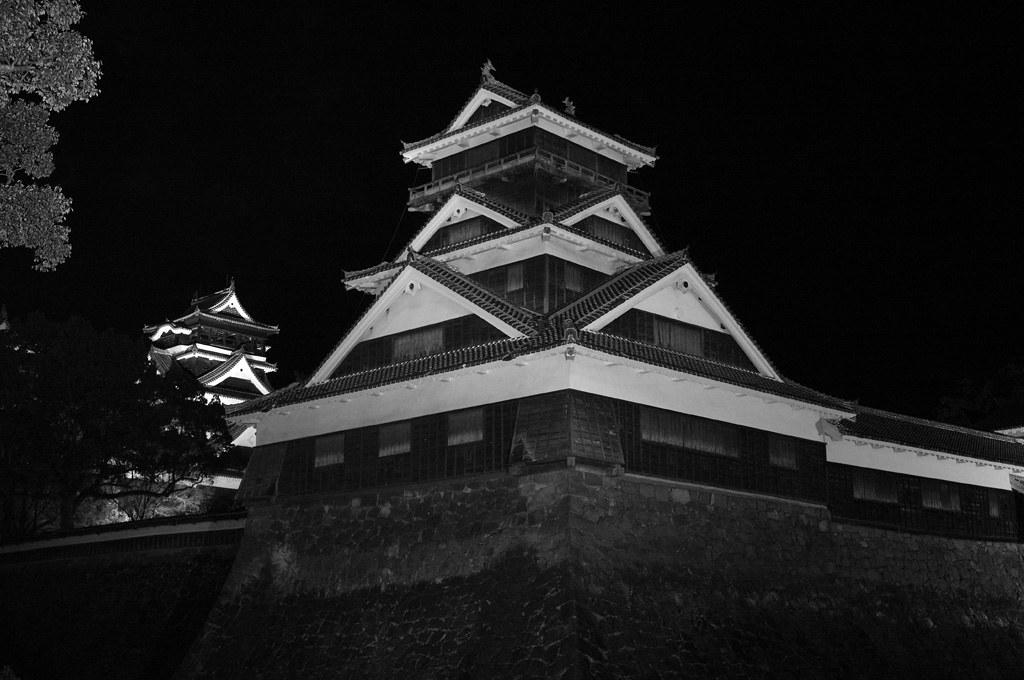 Utoyagura tower of Kumamoto Castle