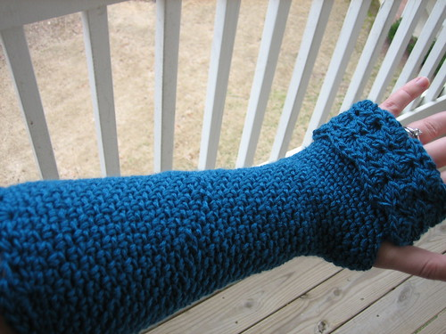 Erin's peacock gloves pic 2
