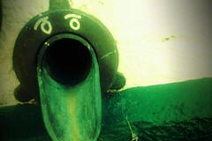 drain face