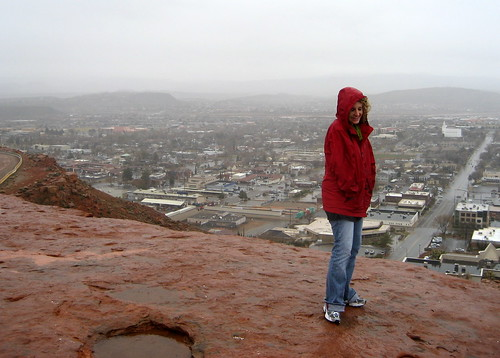 Chilly St. George Overlook