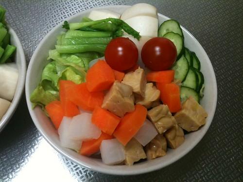 朝食サラダ(2011/2/23)